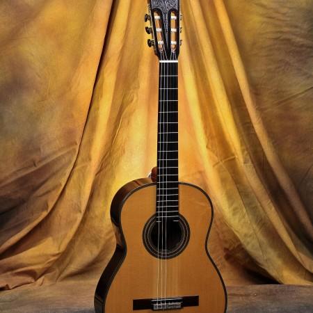 Daryl Perry Classical Guitar 2009 Simplicio Spruce w/Brazilian RW