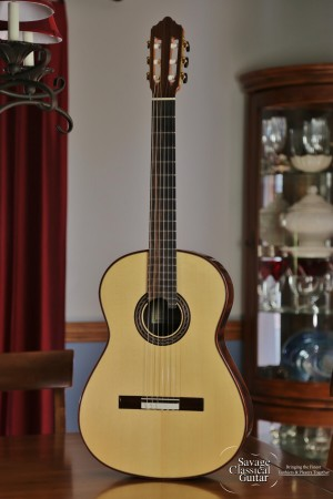 Kenny Hill Performance Classical Guitar #3842 Spruce 640mm