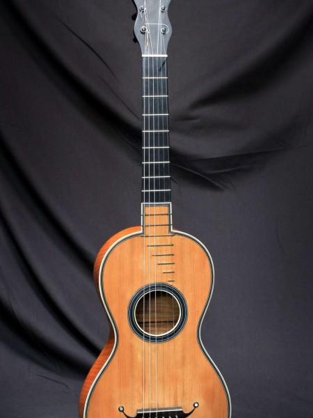 Classical Guitar by Petit Jean 19th Century