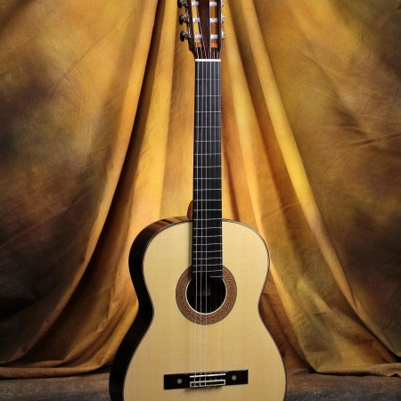 Bob Desmond Classical Guitar 2014 Double Sided Spruce w/EIRW