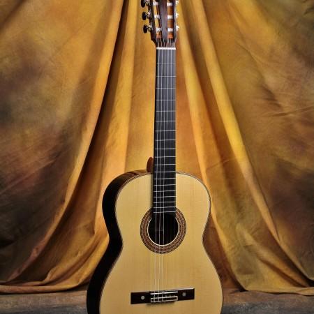 Bob Desmond Classical Guitar 2014 German Spruce Brazilian RW