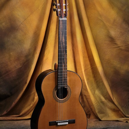 Giannis Paleodimopolous Classical Guitar 2014 Cedar - CSA Double Sided