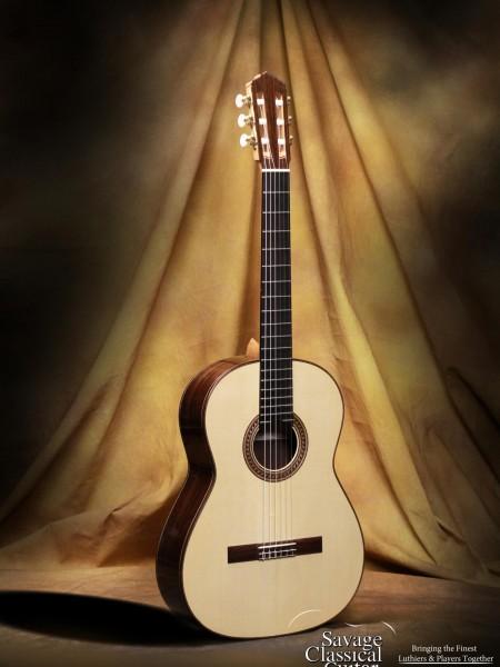 Max Sipe 2014 Classical Guitar Spruce w/EIRW