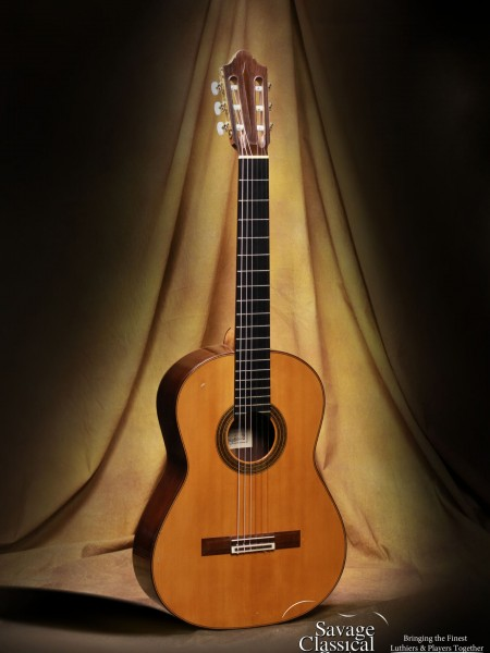 1972 Daniel Friederich Classical Guitar