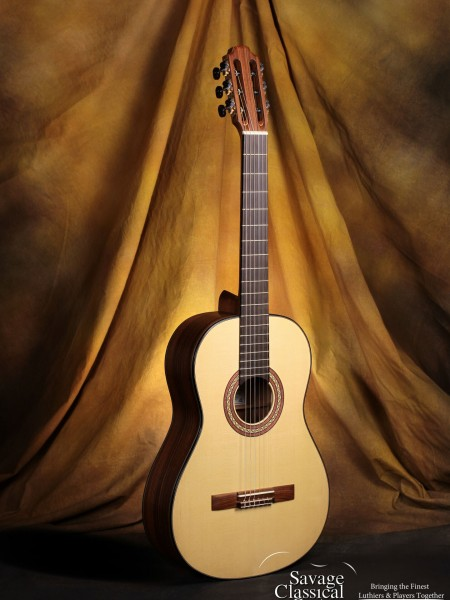 John Peter Barthell Classical Guitar #172 Spruce Brazilian