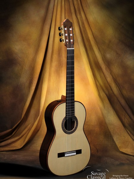 Kenny Hill Performance Classical Guitar #3806 Spruce 630mm Torres Size