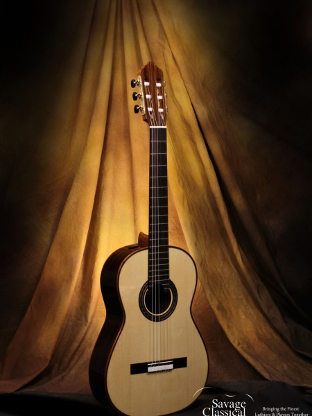 Kenny Hill Performance Classical Guitar #3835 Spruce 630mm Torres Size