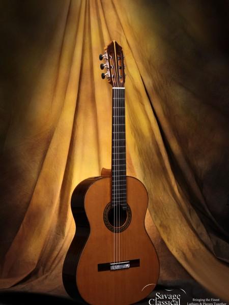 Kenny Hill Classical Guitar #3854 Signature 640mm Cedar