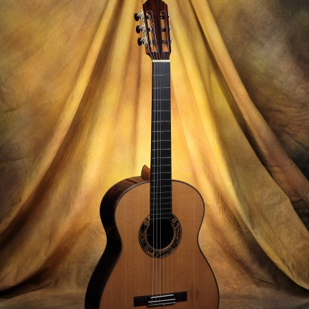 Ashley Sanders Classical Guitar #58 2014 Cedar EIRW