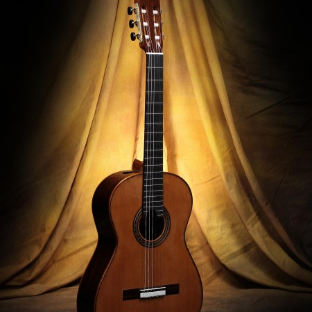 Kenny Hill Performance Classical Guitar #3861 Cedar 630mm 7/8 Size