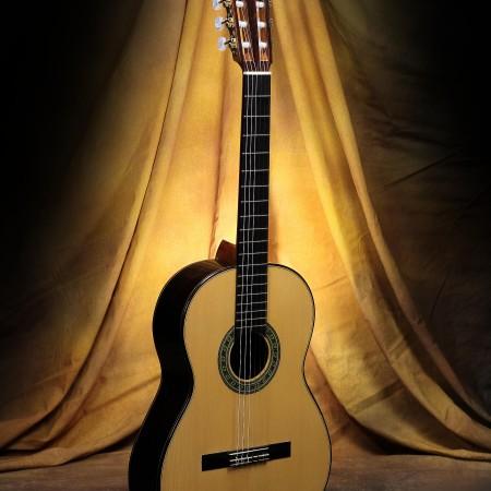 Lucas Braz Classical Guitar Spruce w/Brazilian RW