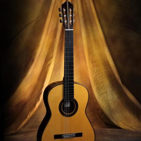 Manuel Adalid Classical Guitar Hauser Bench Copy #002
