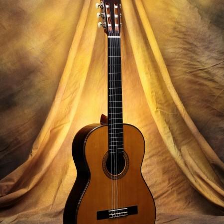 Manuel Velazquez Classical Guitar 1987 Spruce Brazilian RW