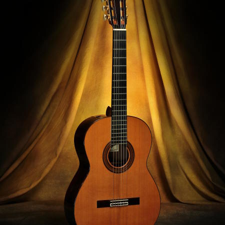 Robert Ruck Classical Guitar #793 Cedar 2002