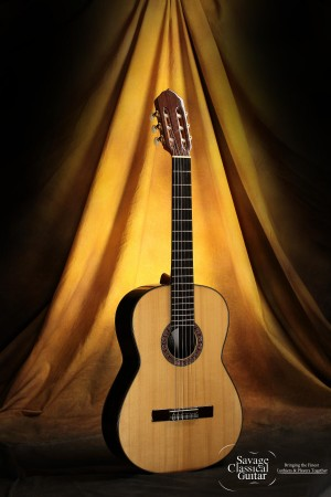 Karolos Tsakirian Classical Guitar 2012 Spruce w/EIRW