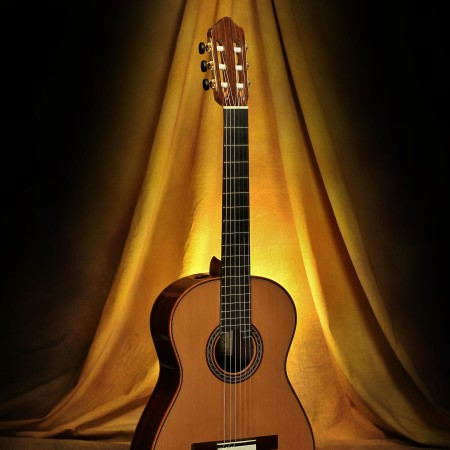 Kenny Hill Performance Classical Guitar #3847 Cedar Double Top with Lattice Bracing 7/8 size