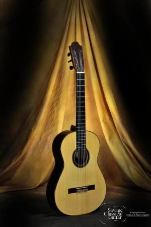 2012 Raya Pardo Negra Flamenco Guitar 608