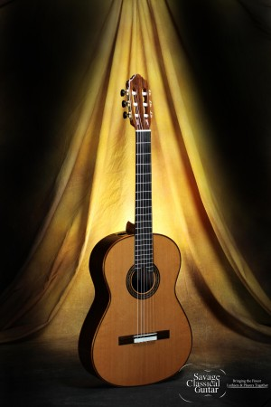 Kenny Hill Performance Classical Guitar #3889 Cedar 640mm