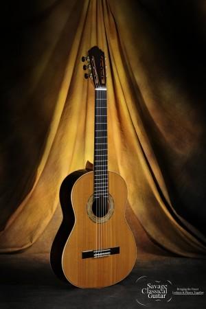 Michael Cadiz Classical Guitar #28 - 2015 Cedar EIRW
