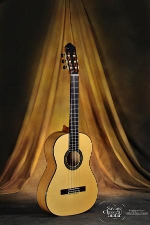 Teodoro Perez Classical Guitar Madrid 2013 Spruce Cypress