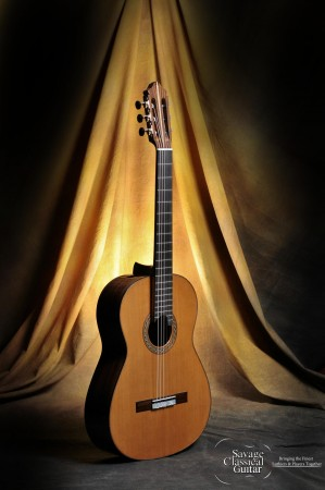 Kenny Hill Classical Guitar #3948 Signature 650 Cedar