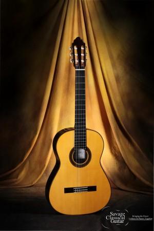 Manuel Adalid Alboraya Classical Guitar - Savage Classical Custom Shop Guitar #002 - Spruce