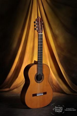 Kenny Hill Classical Guitar #3946 Signature 640 Cedar