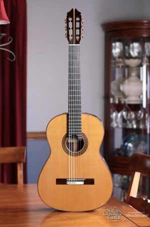 Kenny Hill Classical Guitar #3990 Signature 650 Cedar EIRW