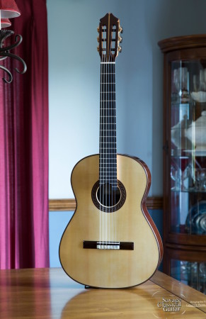 Kenny Hill Signature Classical Guitar #3987 - Spruce 640mm