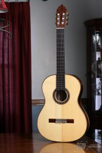 2015 David Daily Classical Guitar 543 - Spruce w/CSA RW