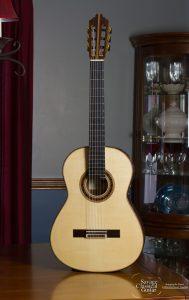 Steve Porter Classical Guitar #32 Spruce EIRW Quantum