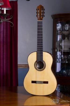 2009 Randy Angella Classical Guitar #183 Spruce CSA Rosewood