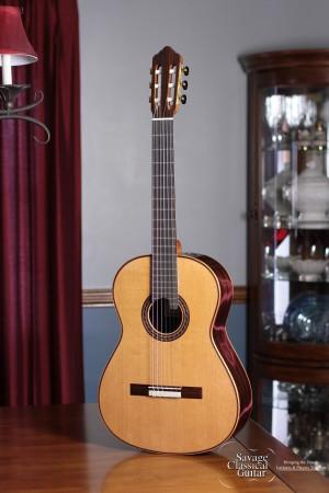 Kenny Hill Performance Classical Guitar #4009 Cedar 640mm