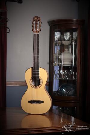 Matt Rubendall Classical Guitar 2015 Modern Romantic Spruce Maple