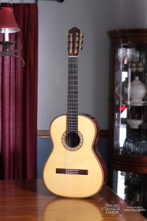 Maxwell Sipe Classical Guitar #40 2016 Spruce EIRW