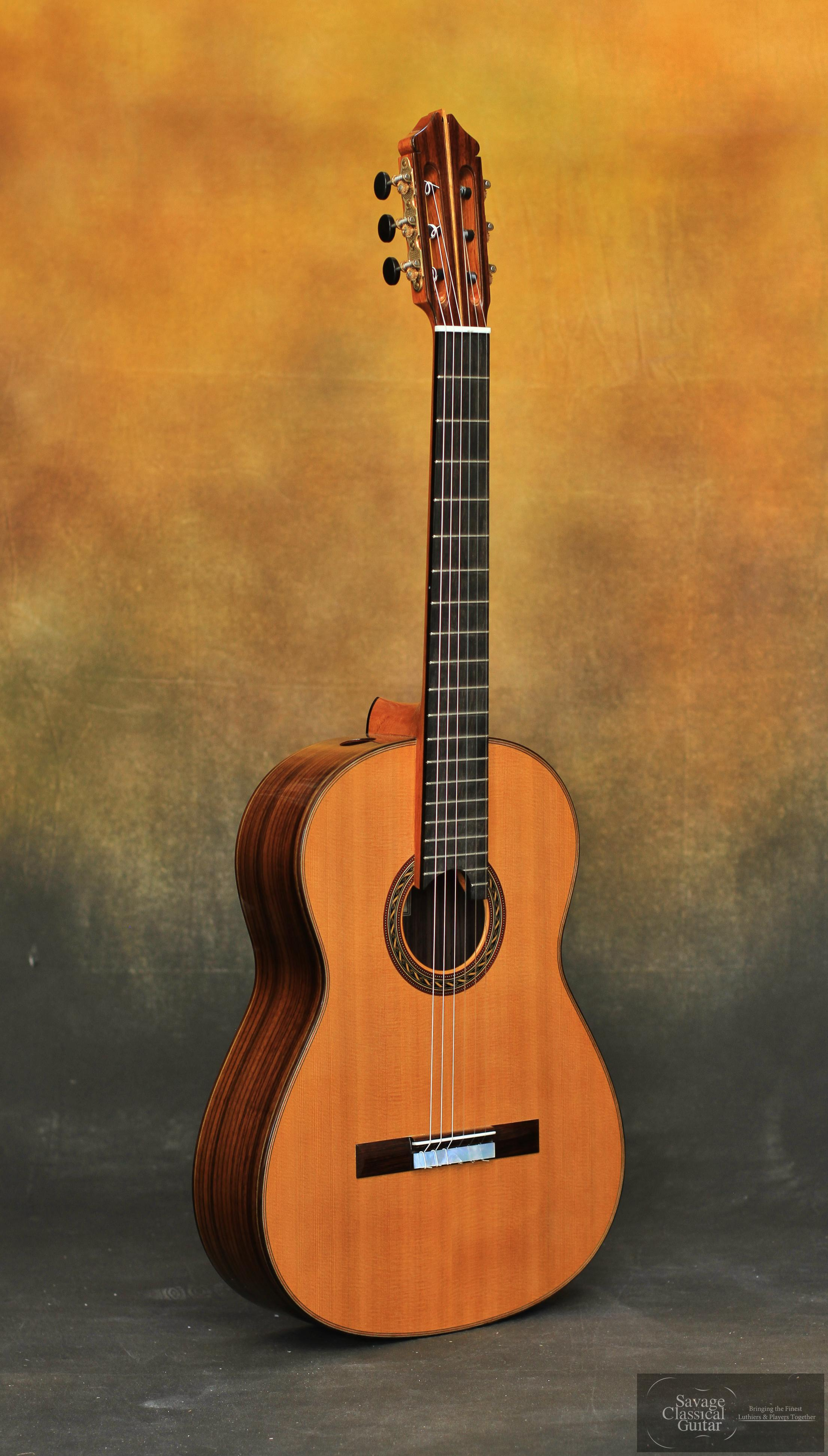 Kenny Hill Signature Classical Guitar 3386 Cedar